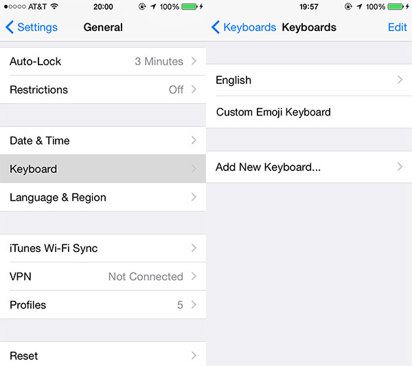 settings-ios-android